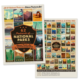 Postcards National Parks Postcard Set