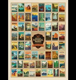 Puzzles National Parks Puzzle