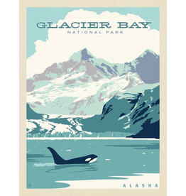 Prints Glacier Bay National Park 11x14 Print