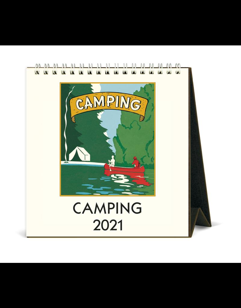 Calendars Camping 2021 Desk Calendar