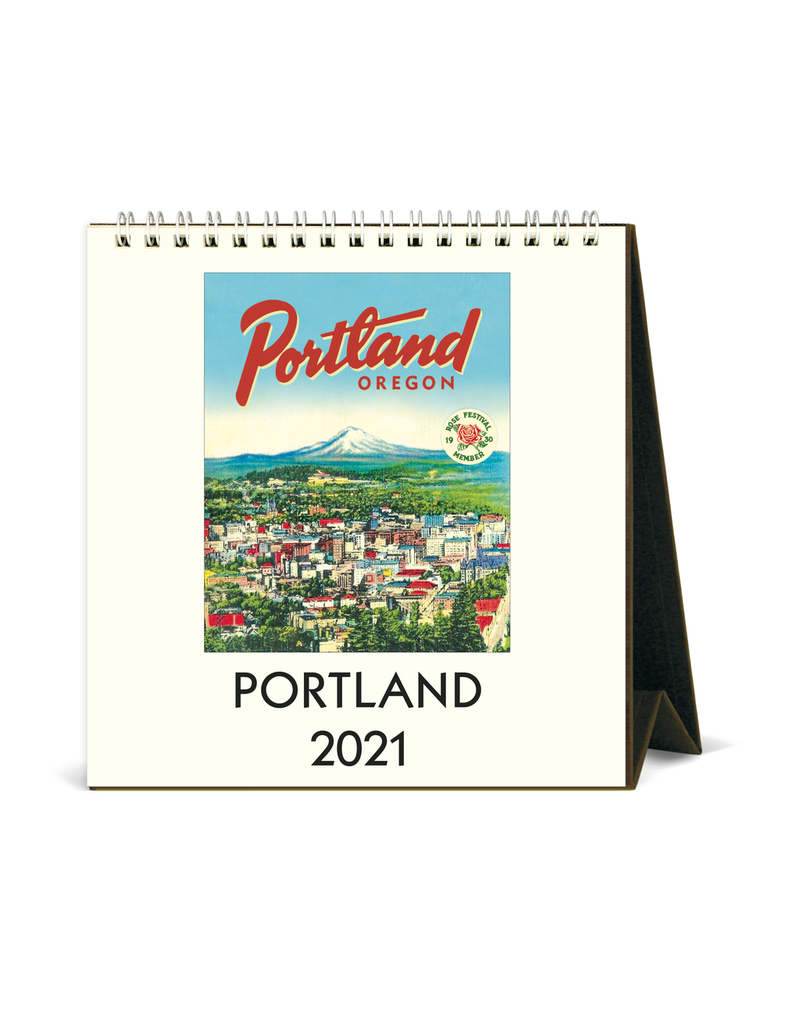 Calendars Portland 2021 Desk Calendar