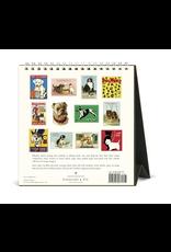 Calendars Vintage Dogs 2021 Desk Calendar