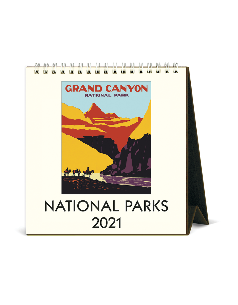 Calendars National Park 2021 Desk Calendar