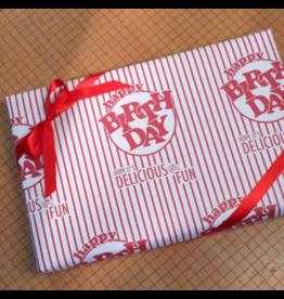 Gift Wrap Birthday Popcorn Wrap