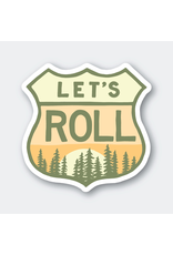Stickers Let's Roll Highway Sticker