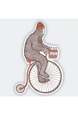 Stickers Sasquatch Bike Sticker