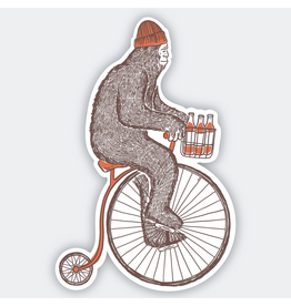 Stickers Sasquatch Bike Sticker