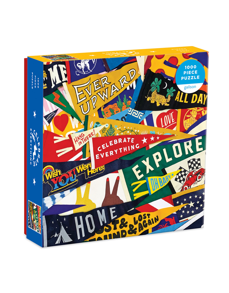 Puzzles Celebrate Everything Pennant Puzzle