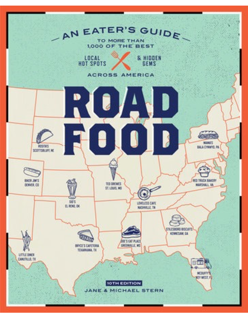 Books - Food & Drink Road Food 10th Edition