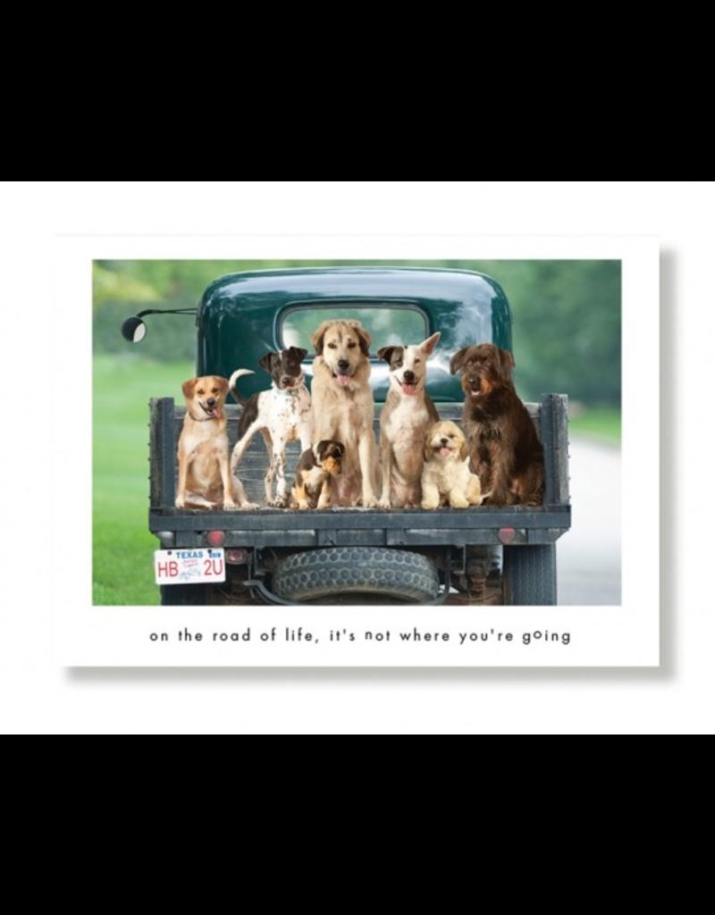 Greeting Cards Rocket & Gang Birthday Card