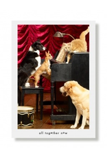 Greeting Cards Opie & The Drifters Birthday Card