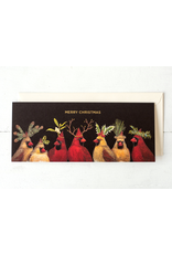 Greeting Cards - Christmas Christmas Cardinals Holiday Card