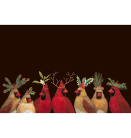 Placemats - Paper Christmas Cardinal Party Paper Placemats