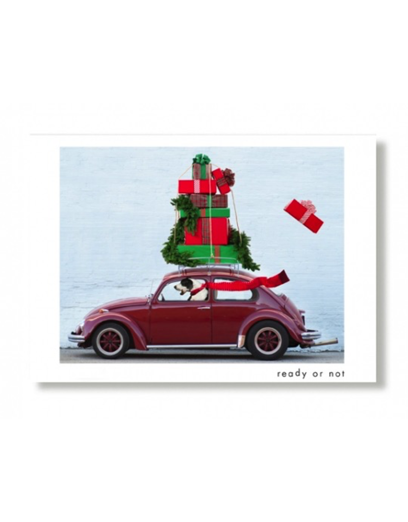 Greeting Cards Ready Or Not Holiday Card