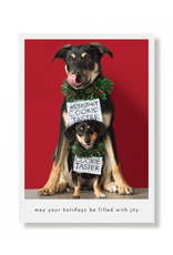 Greeting Cards Cookie Tasters Holiday Card