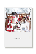 Greeting Cards Happy Winter Holiday Card