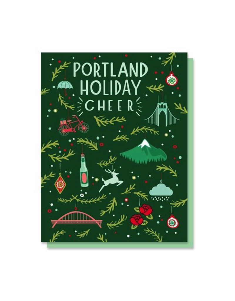 Greeting Cards Portland Holiday Cheer Cards