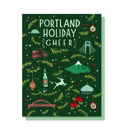 Greeting Cards Portland Holiday Cheer Card