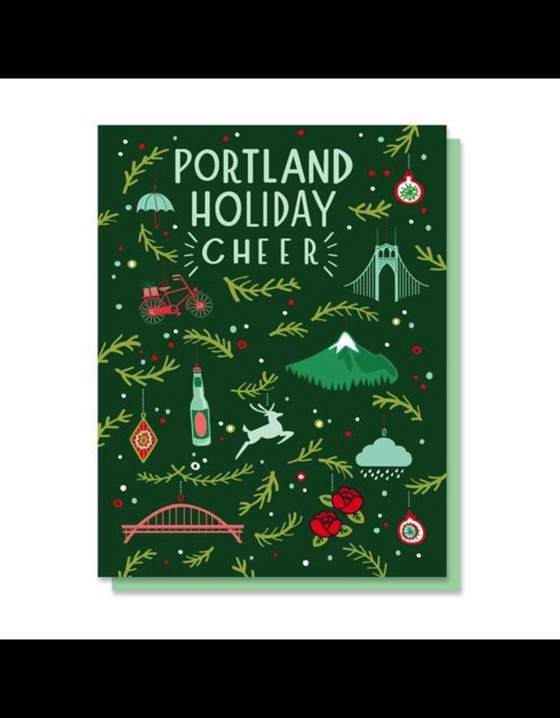 Greeting Cards Portland Holiday Cheer Card