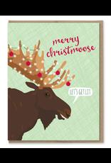 Greeting Cards - Christmas Merry Christmoose Card