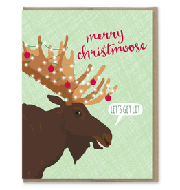 Greeting Cards - Christmas Merry Christmoose Card
