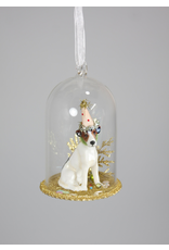 Ornaments Party Dog Globe Ornament