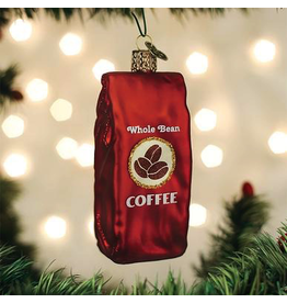 Ornaments Bag Of Coffee Beans Ornament