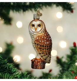 Ornaments Barn Owl Ornament