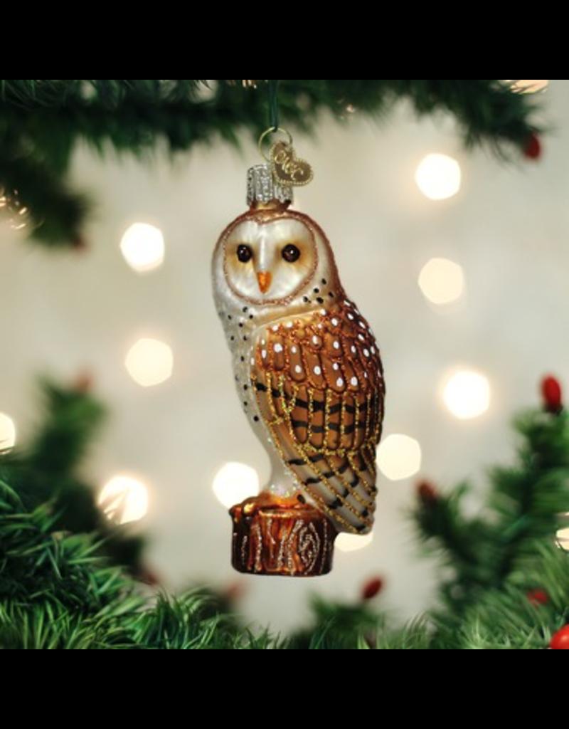 Ornaments Barn Owl Ornament