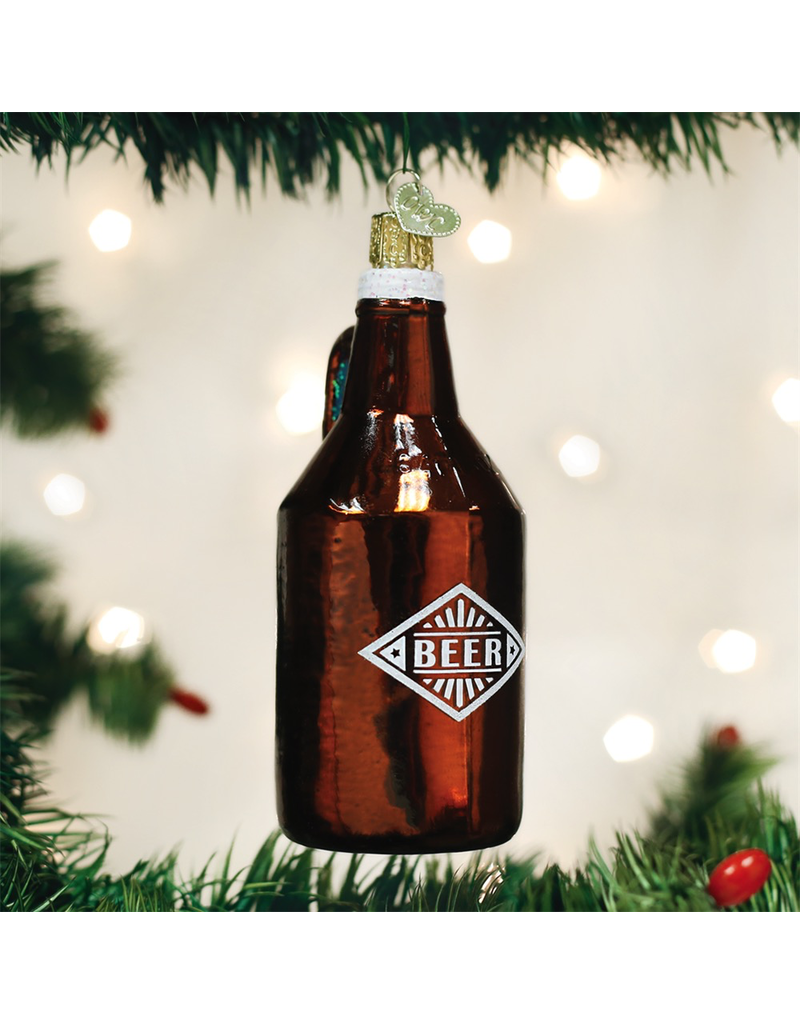 Ornaments Beer Growler Ornament