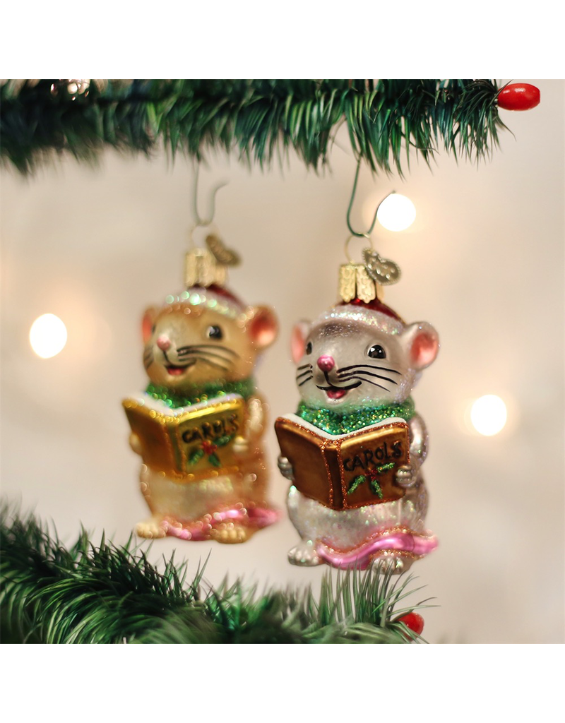 Ornaments Caroling Mice