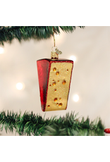 Ornaments Cheese Wedge Ornament
