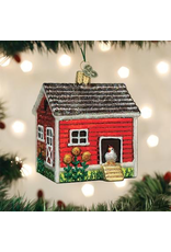 Ornaments Chicken Coop Ornament