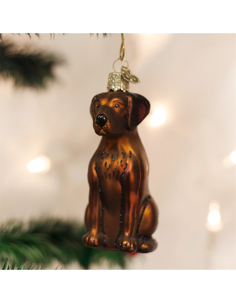 Ornaments Chocolate Lab Ornament