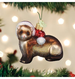 Ornaments Christmas Ferret Ornament