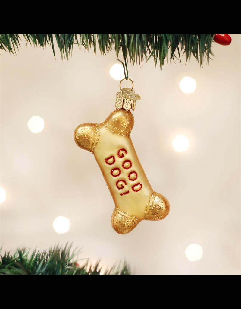 Ornaments Good Dog Biscuit Ornament