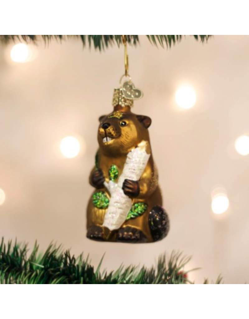 Ornaments Eager Beaver Ornament