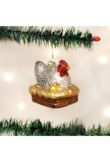 Ornaments Hen On Nest Ornament
