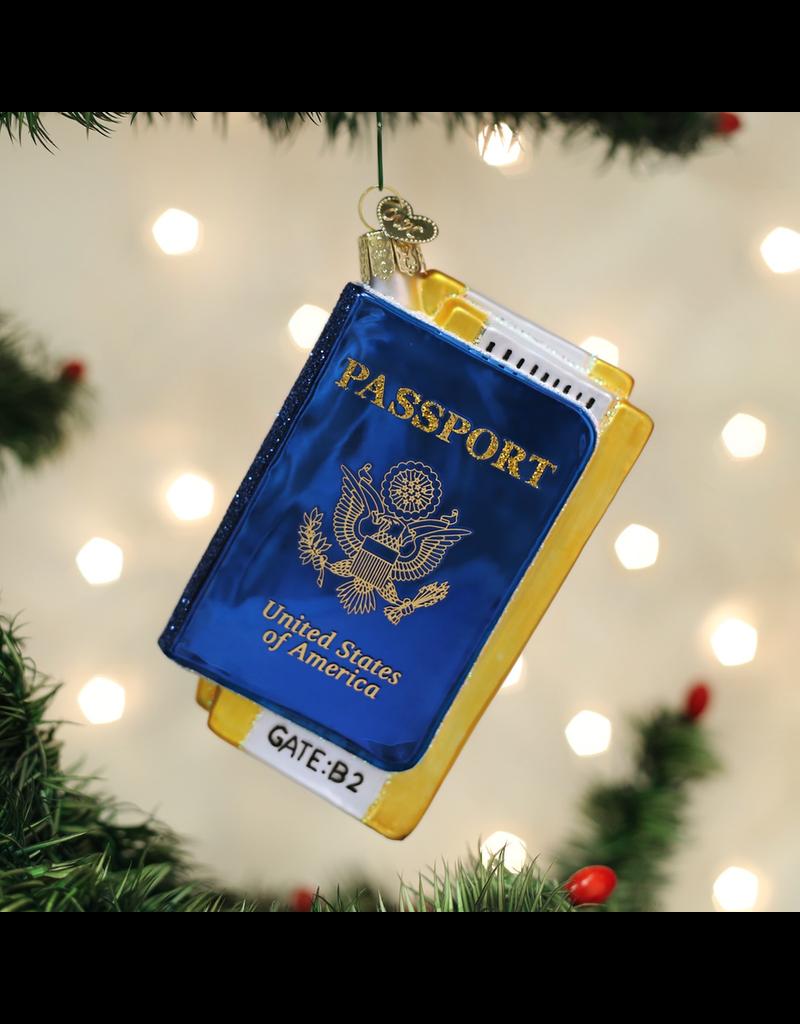 Ornaments Passport Ornament