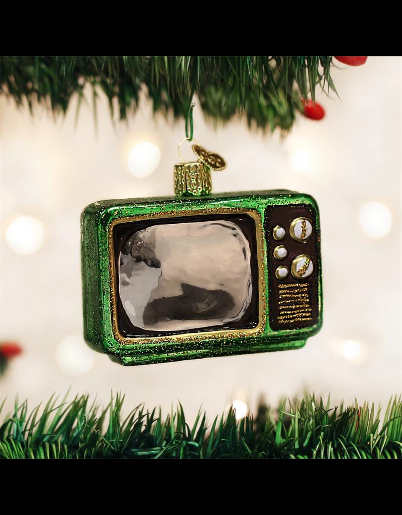 Ornaments Retro Television Ornament