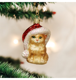 Ornaments Santa's Kitten Ornament