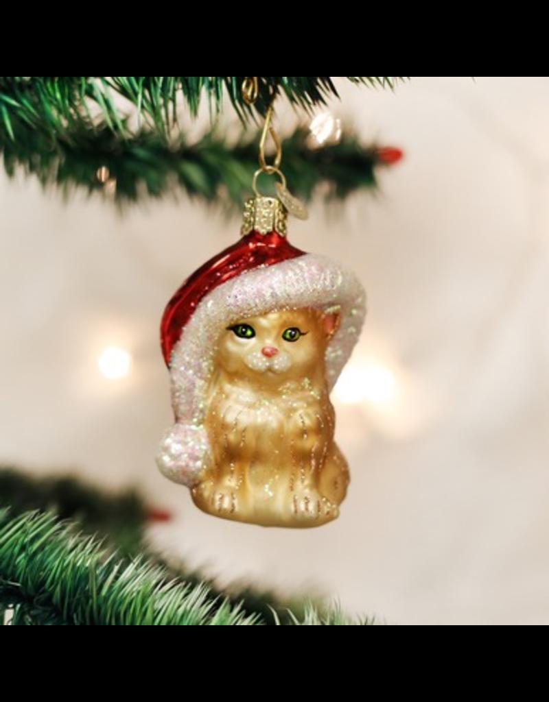 Ornaments Santa's Kitten Ornament