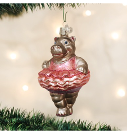 Ornaments Twinkle Toes Hippo Ornament