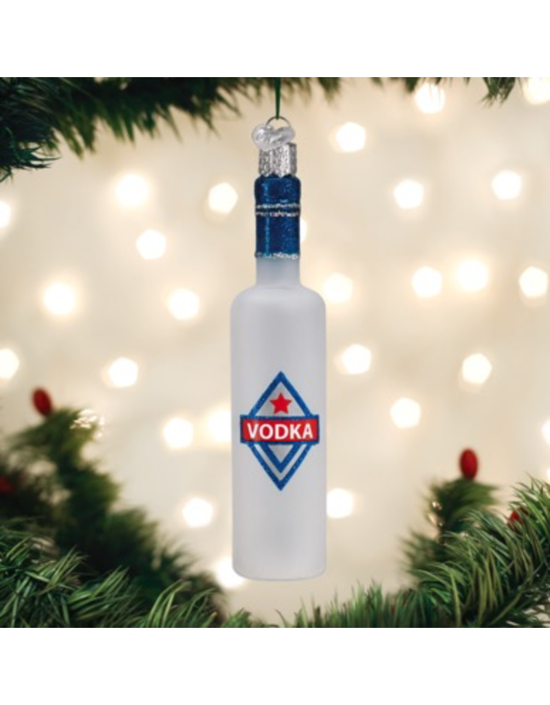 Ornaments Vodka Bottle Ornament