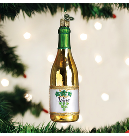 Ornaments White Wine Bottle Ornament