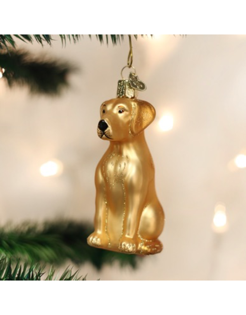 Ornaments Yellow Labrador Ornament