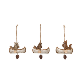 Ornaments Woodland Canoe Ornament