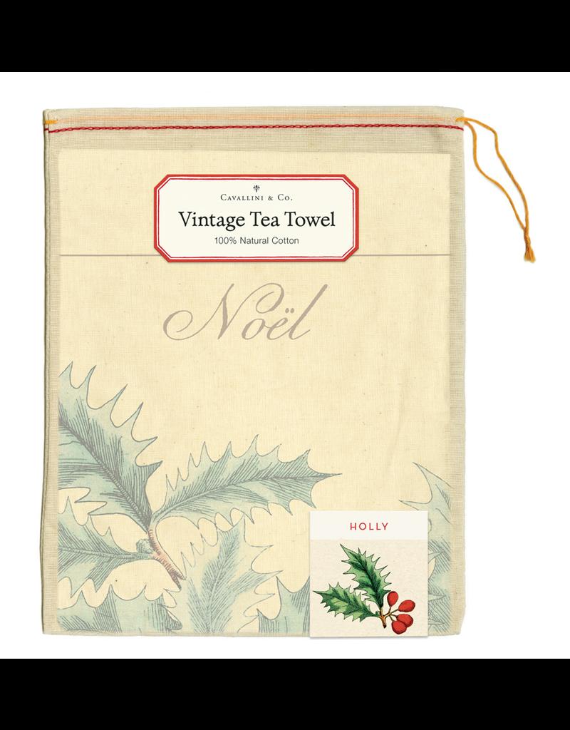 Tea Towels Holly Tea Towel