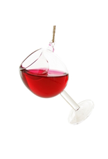 Ornaments Glass of Red Wine Ornament