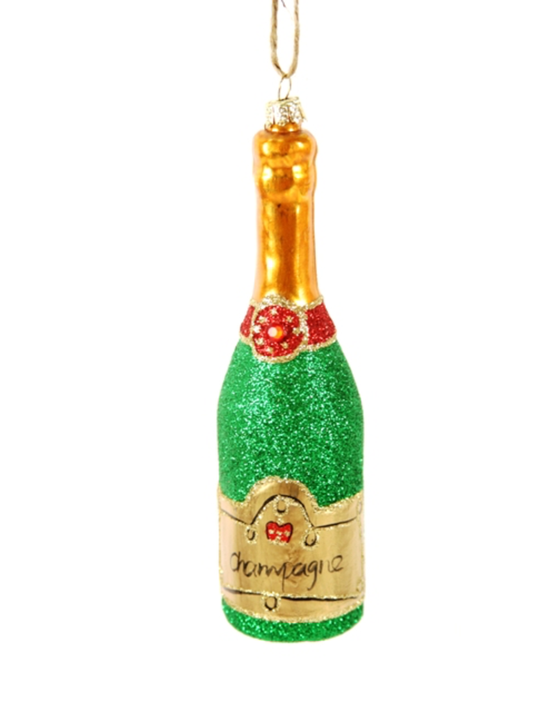 Ornaments Glitter Champagne Ornament